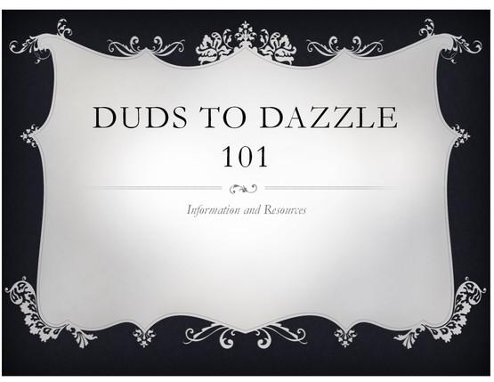 Duds to Dazzle