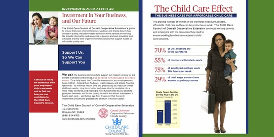 graphic of Child Care Effect handout