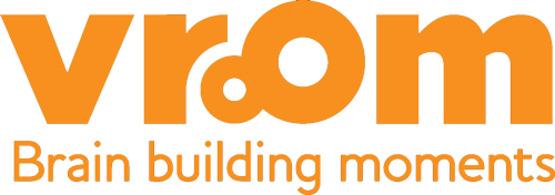Logo for Vroom, Brain Building App & Program for Parents