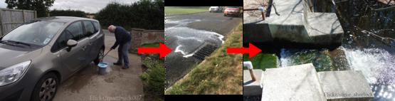 car wash drain