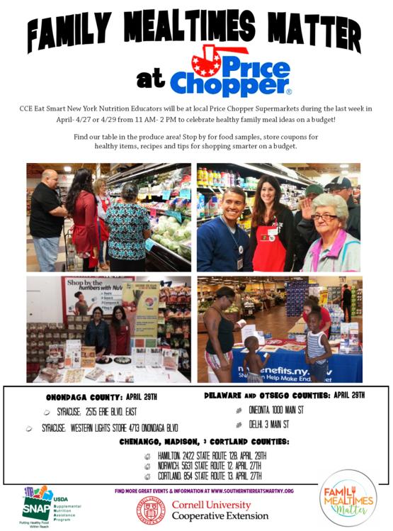 April 2017 Price Chopper Event