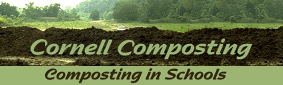 "Cornell Waste Management ""Composting in Schools"" graphic, to use to link to: http://compost.css.cornell.edu/schools.html"