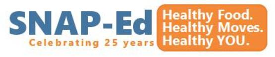 SNAP 25 year logo