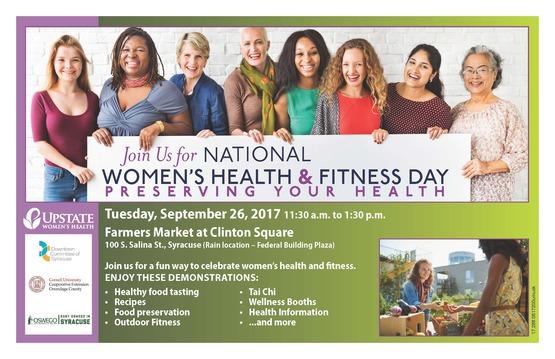 Women's Health & Fitness Day PDF