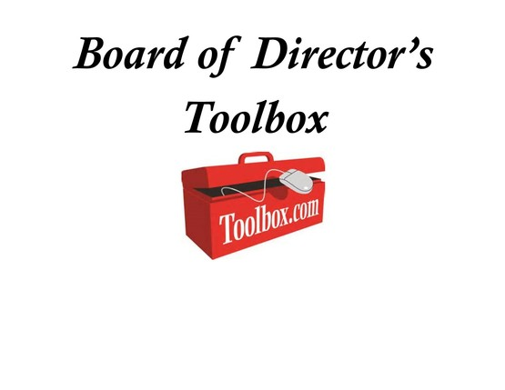 Board of Directors Tool Box