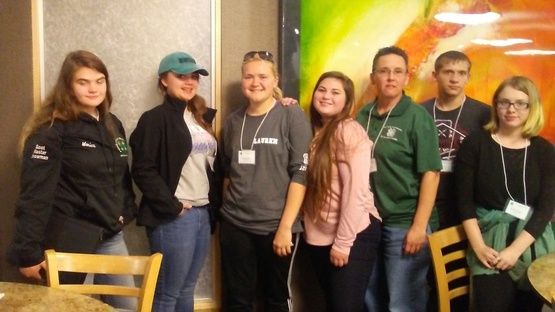 St. Lawrence, Jefferson, and Lewis County teens at 217 ABC Conference