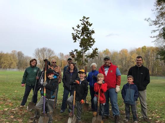 Baldwisnville Tree Planting