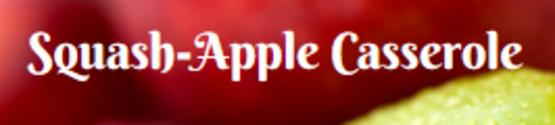Squash Apple