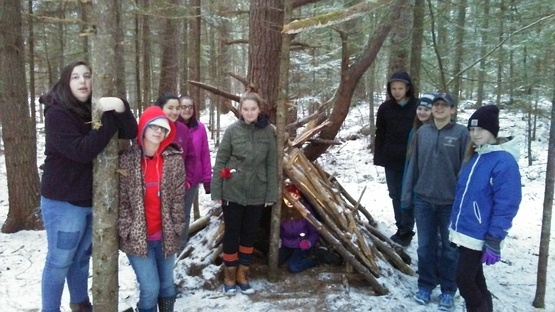 SLC Teens at Teen Council Retreat 2017