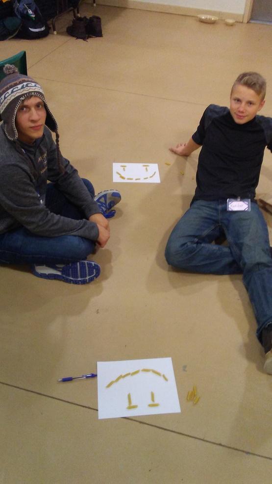 Activity at Teen Council Retreat 2017