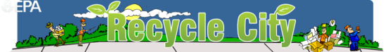 The Logo for the Recycle City Game by the EPA.