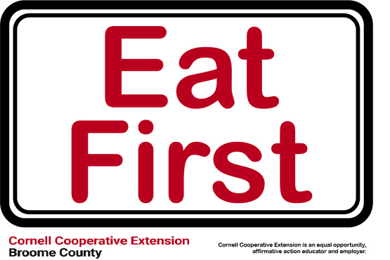 Eat First Label