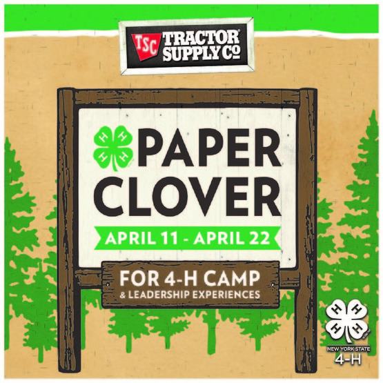 Tractor Supply Co. Spring 2018 Paper Clover