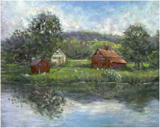 La Basse Cour Painting