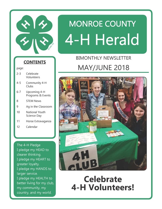 May/June 4-H Newsletter