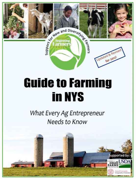 Guide to Farming in NY