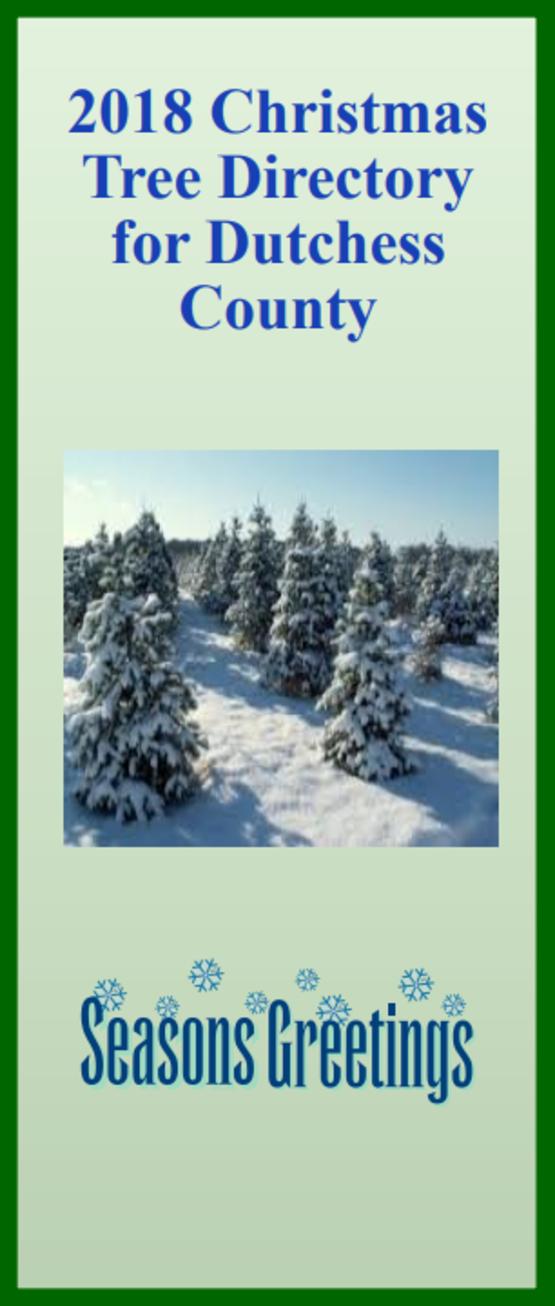 2018 Christmas Tree Directory