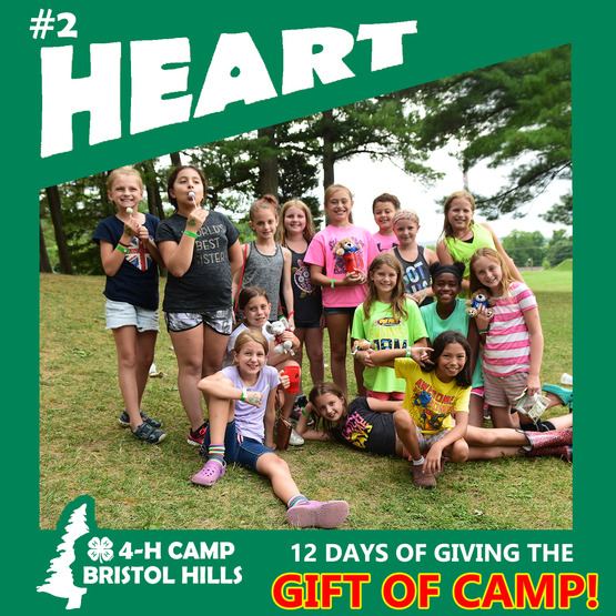 Giving the Gift of Camp: Heart
