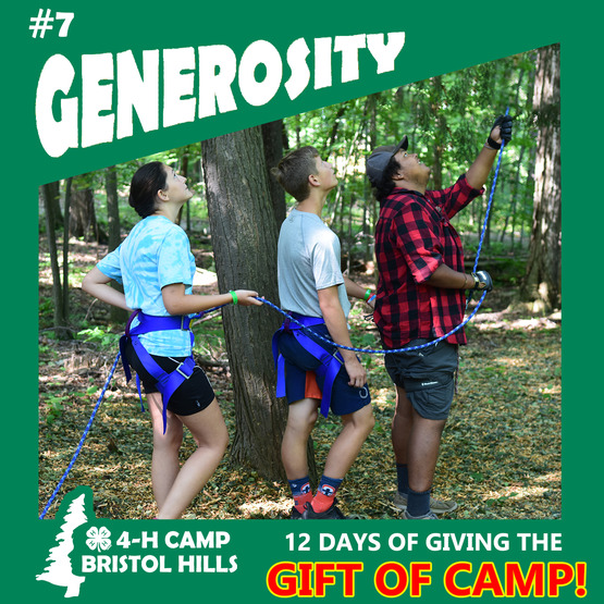Giving the Gift of Camp: Generosity