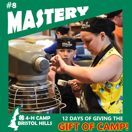 Giving the Gift of Camp: Mastery