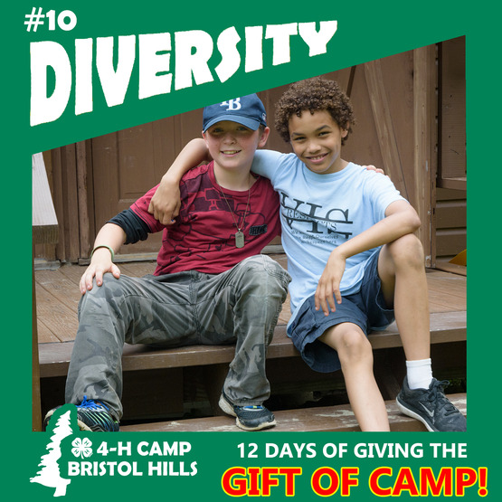 Giving the Gift of 4-H Camp: Diversity