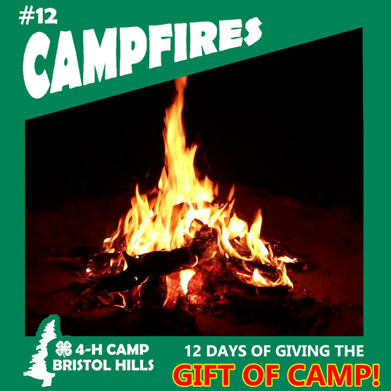 Giving the Gift of 4-H Camp: Campfires
