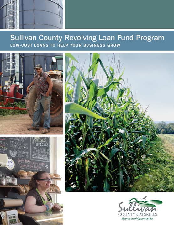 Sullivan County Revolving Loan Fund Program Brochure Cover