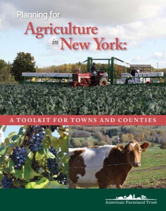 Planning for Agriculture in NYS Brochure Cover