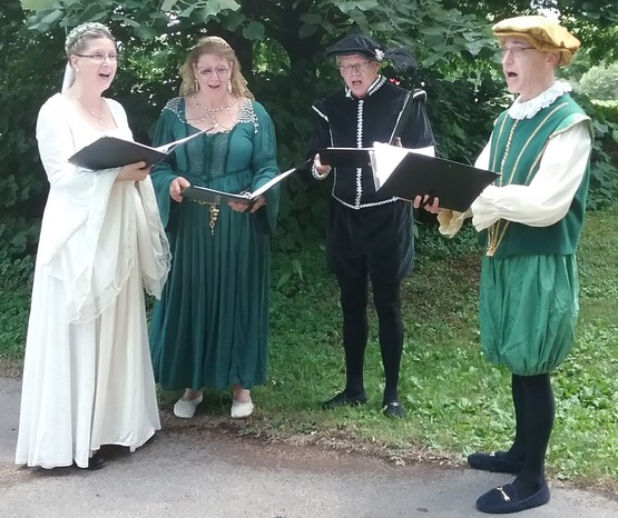 A Shakespearean themed festival in Cutler Botanic Garden