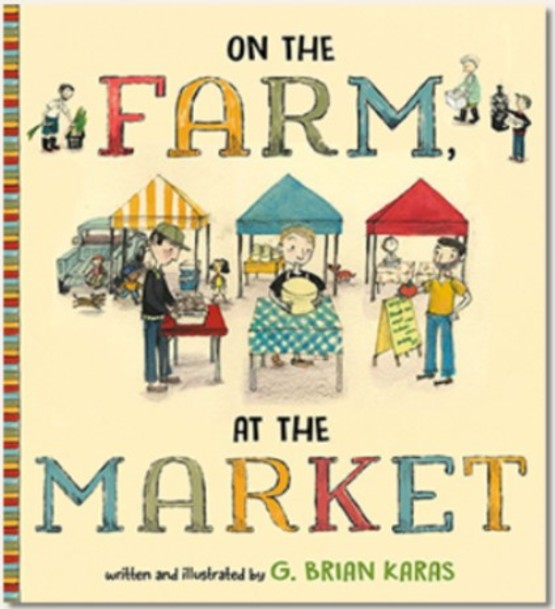 On The Farm, At The Market Book