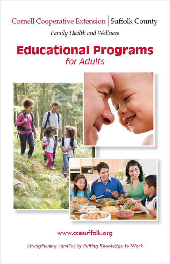 cover of Educatonal Programs for Adults booklet.