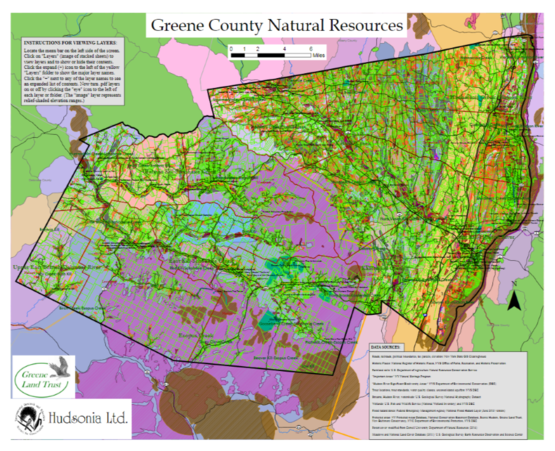 Greene County Nat. Resources Map