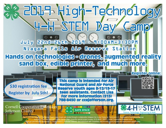 Cornell Cooperative Extension   2019 High-Technology 4-H