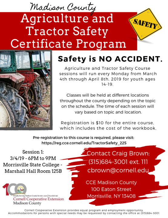 Ag and Tractor Safety