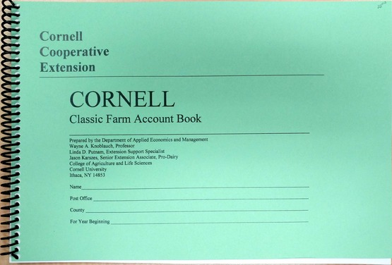 Farm Account Book