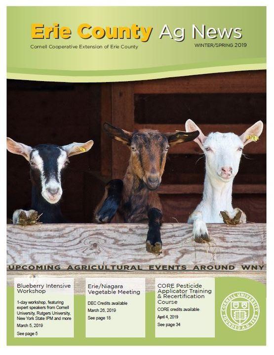 Erie County Ag News Spring 2019