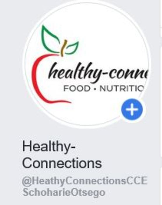 Healthy Connections logo on Facebook.