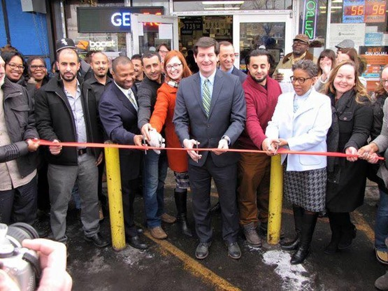Healthy Corner Store, County Ex 1 st Store Ribbon Cutting
