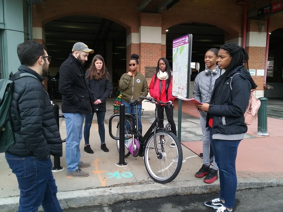 Learning about bike shares from the City of New Rochelle