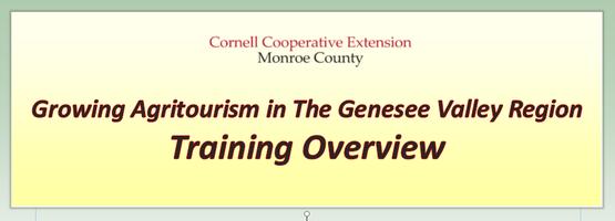 GVRMA Training Overview