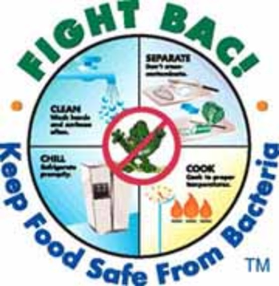 Fight bac / fight bacteria logo #2