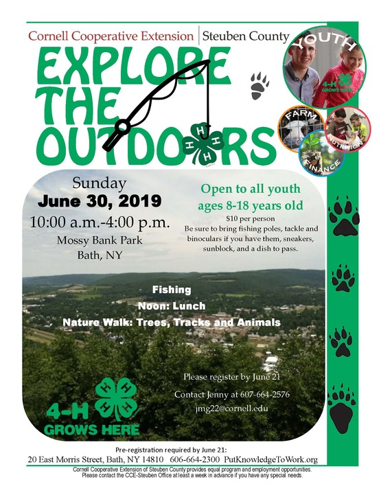 Explore the Outdoors Event
