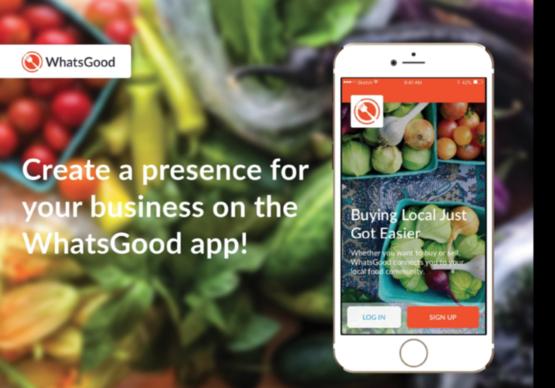 WhatsGood Online Farmers' Market