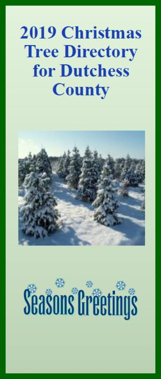 2019 Dutchess County Christmas Tree Directory
