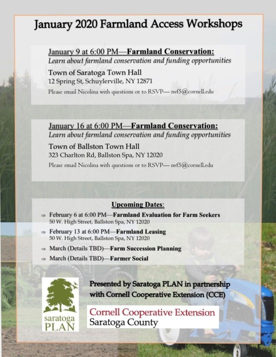 Farmland Access Workshops