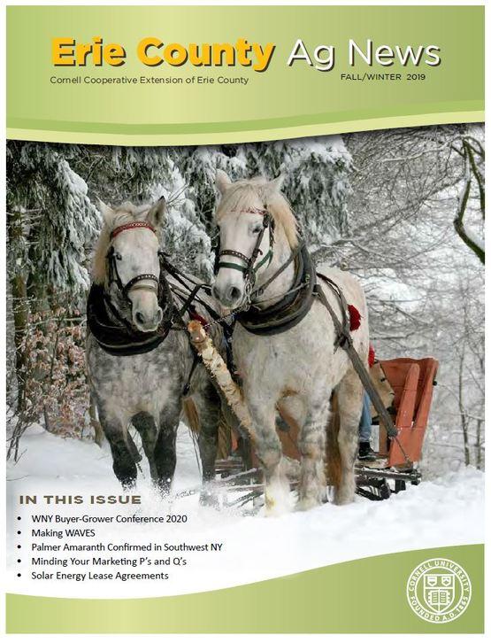 Erie County Ag News Winter 2019