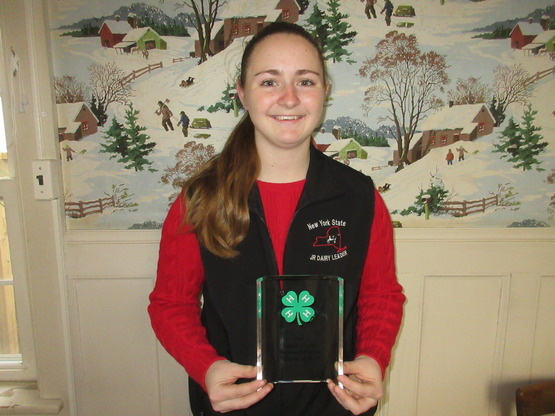 3.Outstanding 4-H Member, Caroline Lafferty