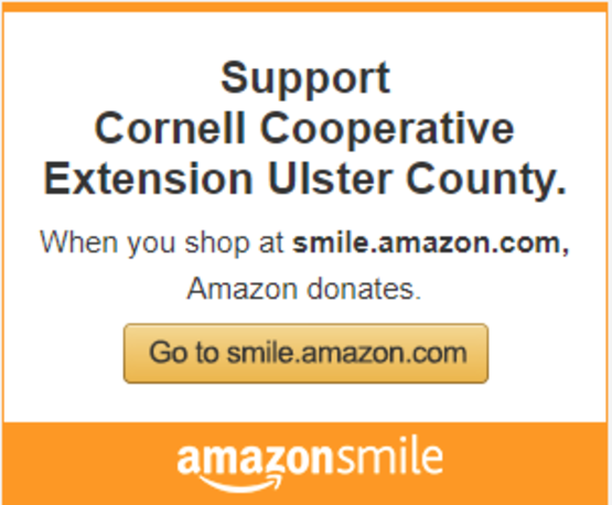 Use Smile.Amazon and donate to CCE Ulster!