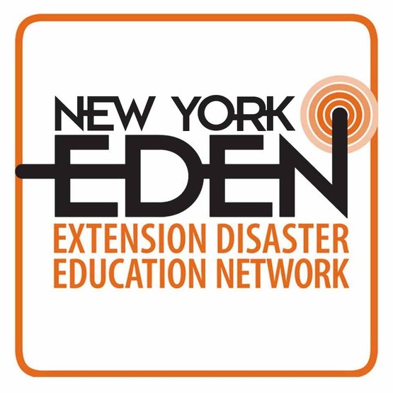 Square logo for Cornell's Emergency Disaster Education Network (EDEN) for use in blocks