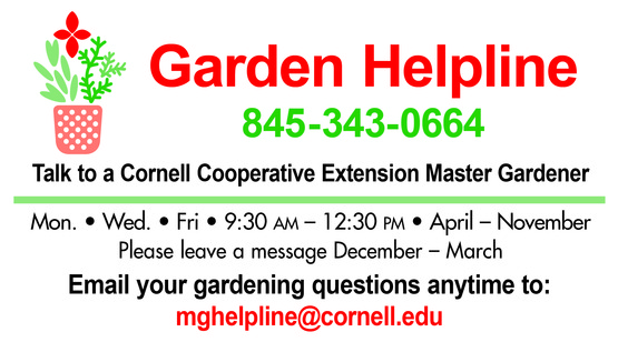 Click here for our gardening resources!
